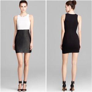 Bailey 44 | Casablanca Black Faux Leather Dress